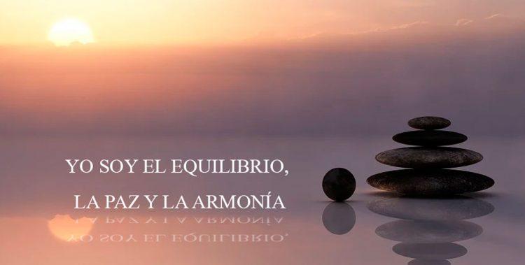 YO SOY EL EQUILIBRIO, LA PAZ Y LA ARMONÍA